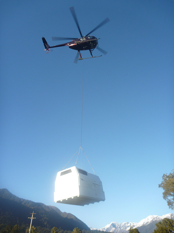 Helicopter Hut Portable Cabin Temporary Accommodation