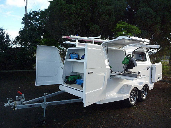 Work Trailer 350 Tradesman And Play NZ Ltd